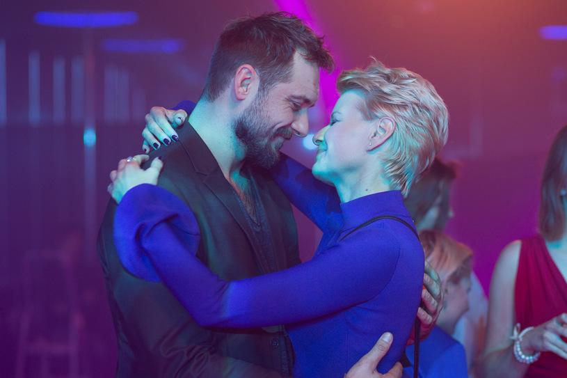 Piotr (Michał Żurawski) i Monika (Małgorzata Kożuchowska) w serialu Druga Szansa