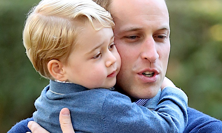 Książę George i książę William