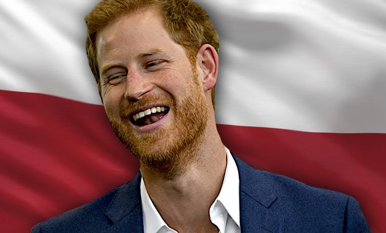 Książę Harry, Polska