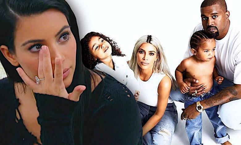Kim Kardashian świąteczna sesja