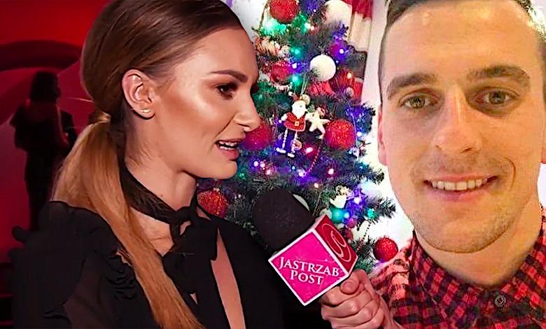 Jessica Ziółek i Arek Milik święta