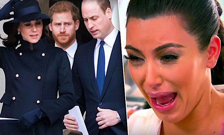 Kim Kardashian, rodzina królewska