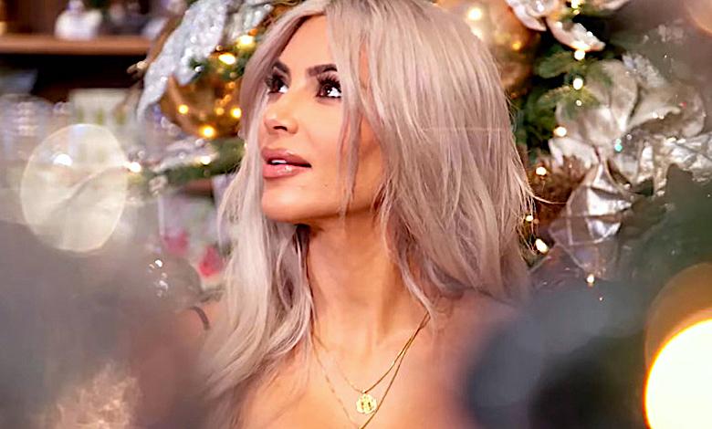 Kim Kardashian święta