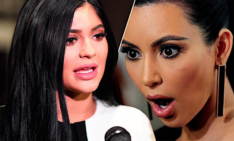 Kylie Jenner i Kim Kardashian kopiują się