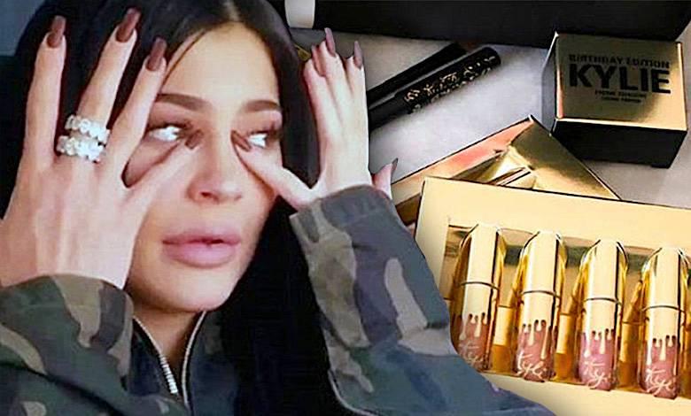 Kylie Jenner płacze