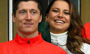 Anna i Robert Lewandowski
