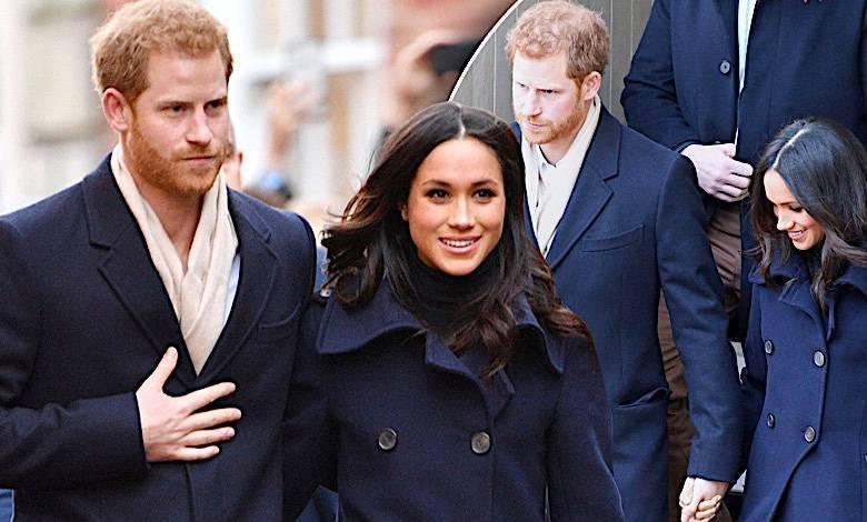 Meghan Markle i książę Harry pierwsze publiczne wyjście