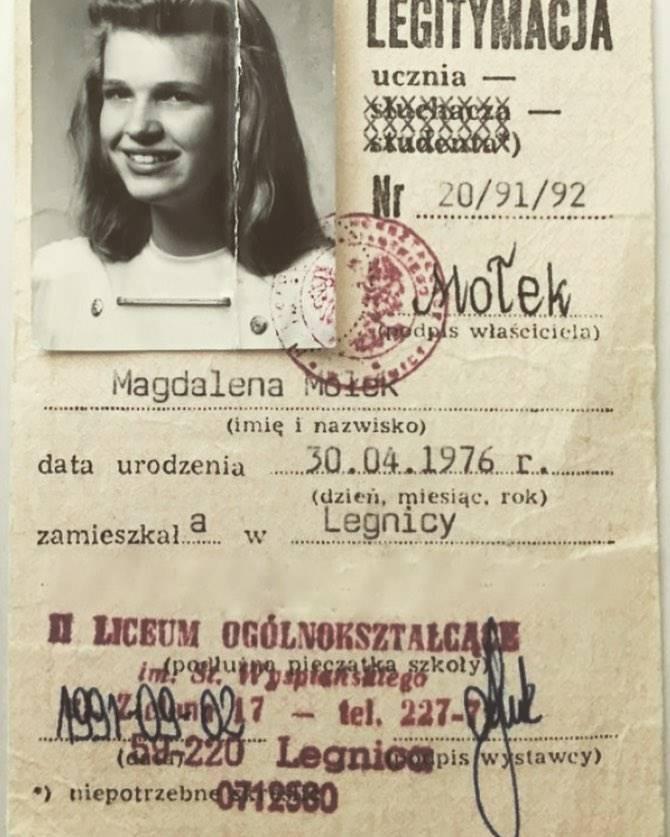 Jak wyglądała Magda Mołek 26 lat wcześniej, miała wówczas 15 lat!