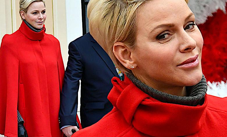 Księżniczka Charlene i ksiażę Albert Monako