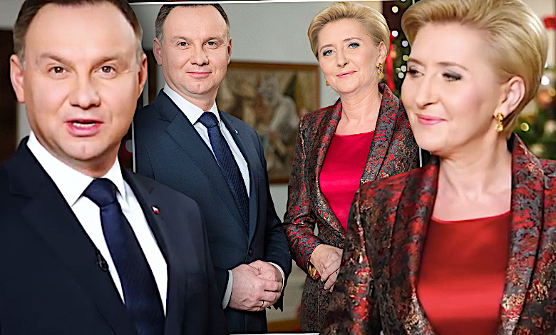 Para prezydencka świąteczne życzenia Andrzej Agata