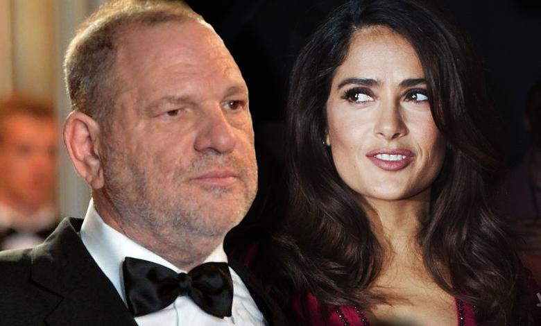 Salma Hayek molestowana przez Weinsteina