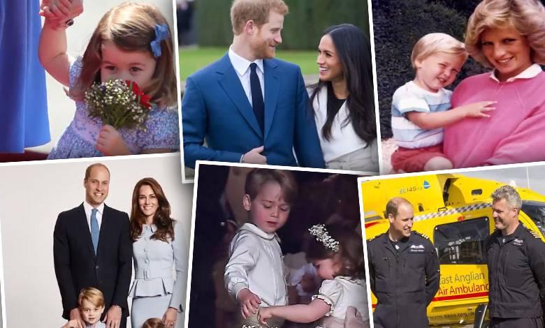 Rodzina królewska w 2017 roku