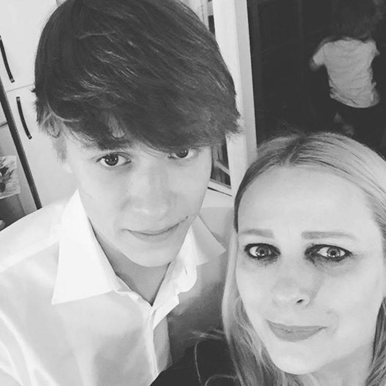 Kasia Nosowska i jej syn Mikołaj Krajewski