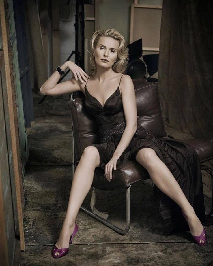 Hanna Lis jak Marilyn Monroe