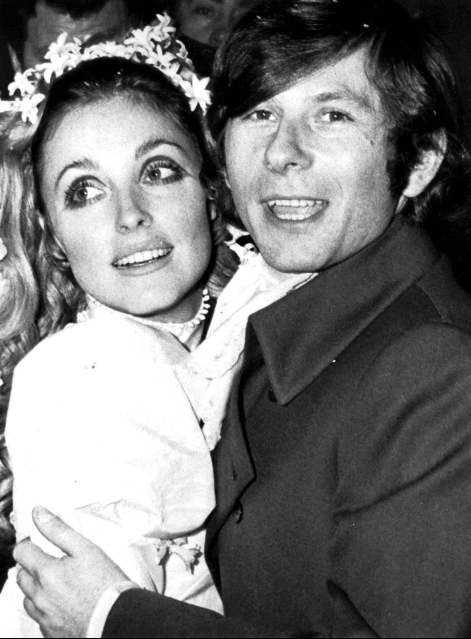 Ślub Sharon Tate i Romana Polańskiego. 1968 rok