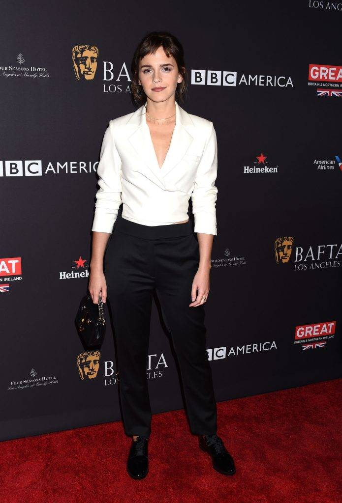 Emma Watson - BAFTA Los Angeles Tea Party 2018 (Złote Globy Pre-party)