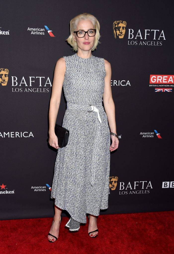 Gillian Anderson - BAFTA Los Angeles Tea Party 2018 (Złote Globy Pre-Party)