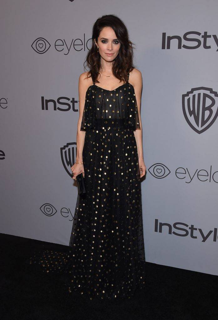Abigail Spencer - Złote Globy x InStyle afterparty 2018