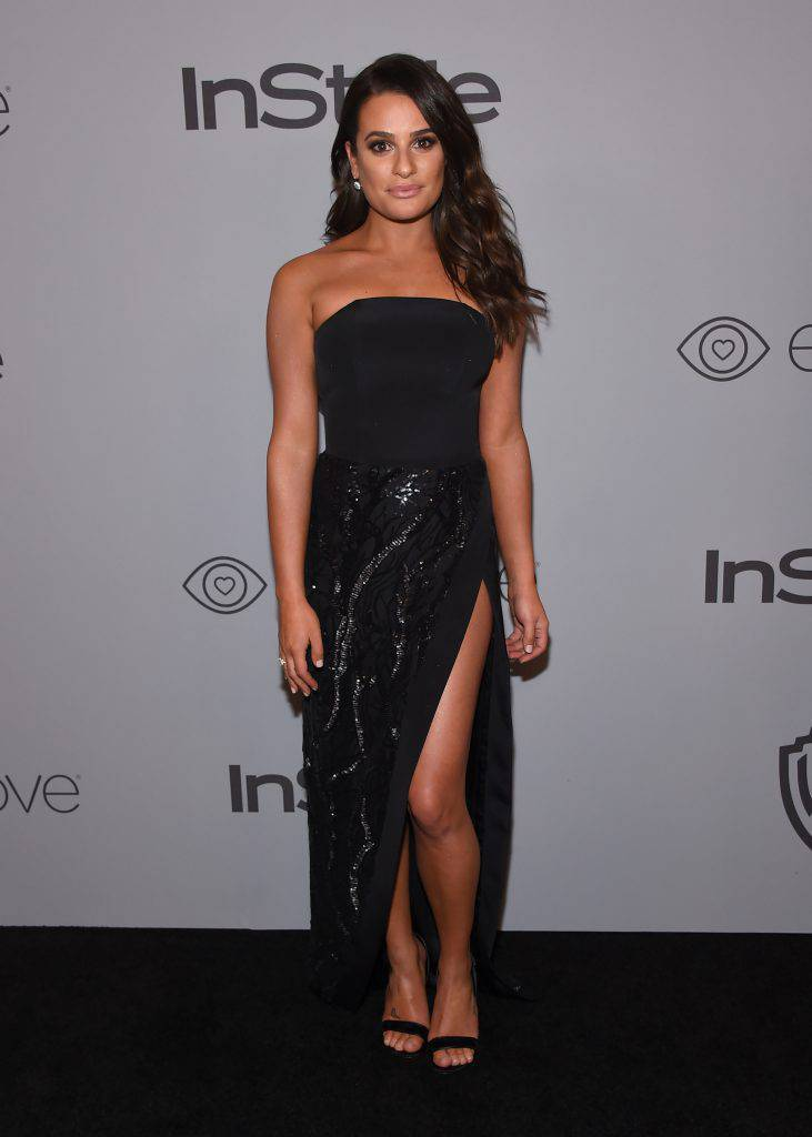 Lea Michelle - Złote Globy x InStyle afterparty 2018