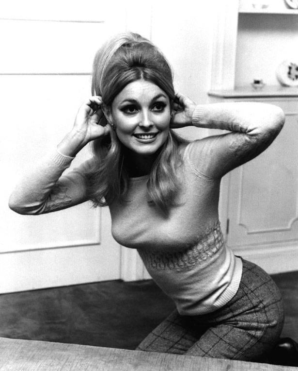 Sharon Tate w Londynie, 10 grudnia 1965