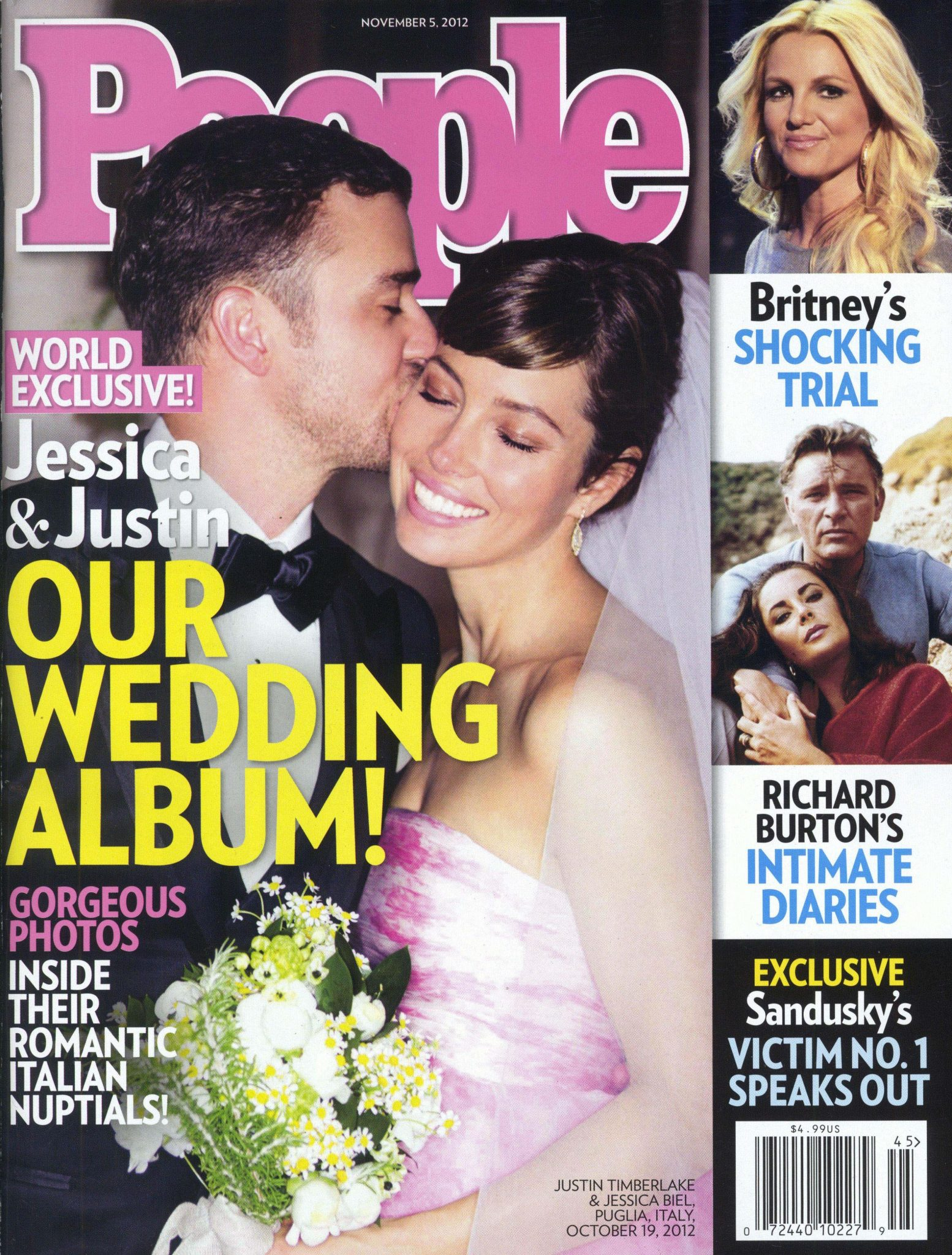 Justin Timberlake i Jessica Biel pobrali się w 2012 roku