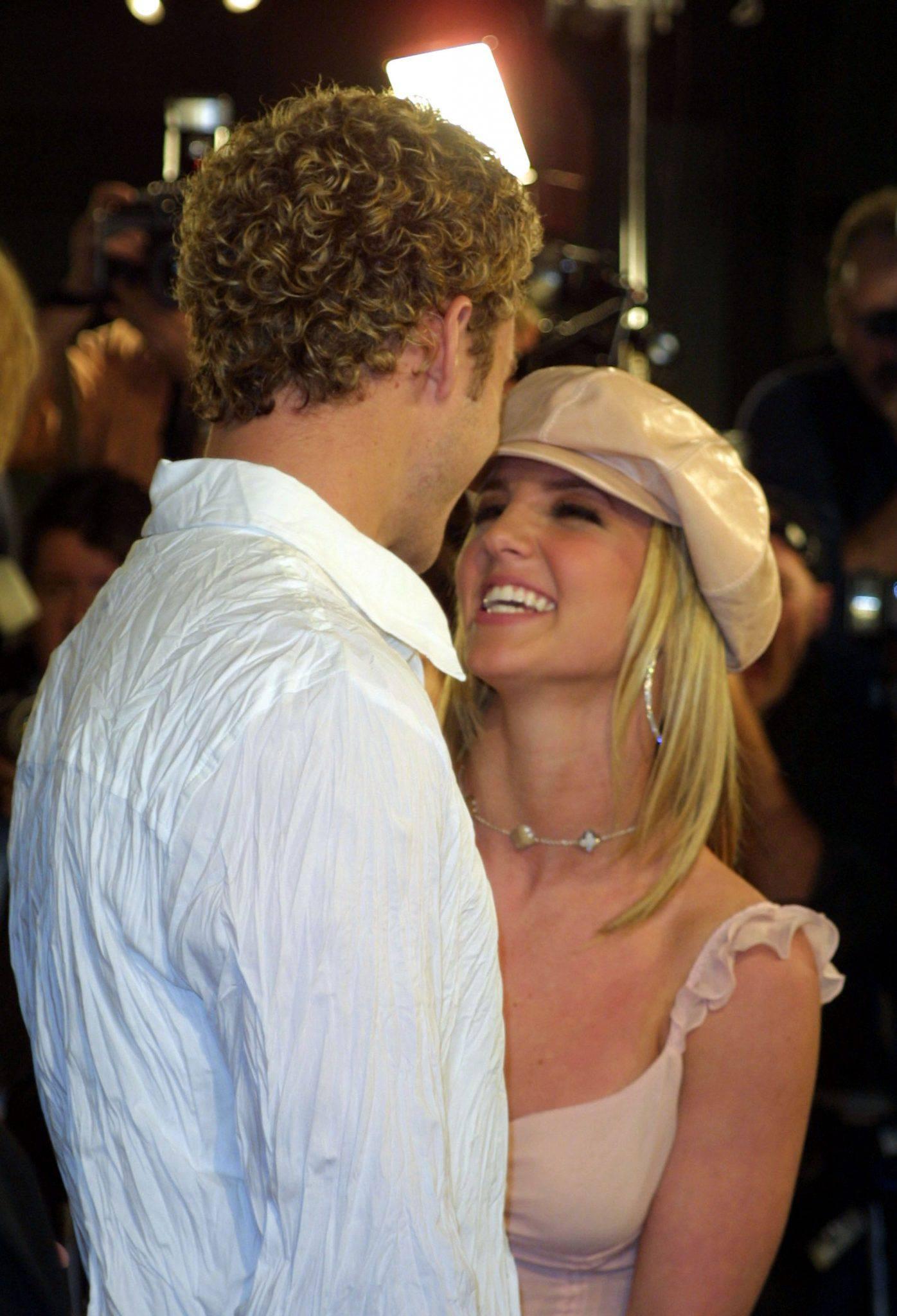 Britney Spears i Justin Timberlake w 2002 roku