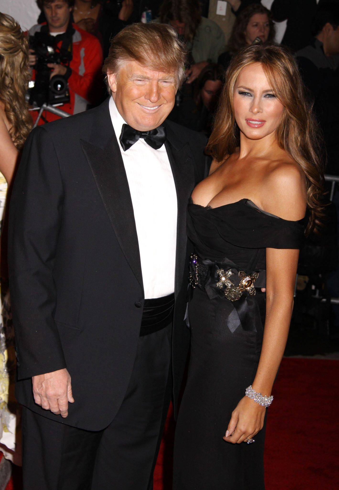 Melania Trump i Donald na MET Gala 2009