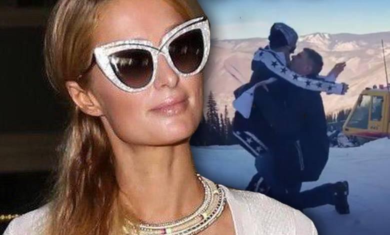 Paris Hilton pokazała suknię ślubną