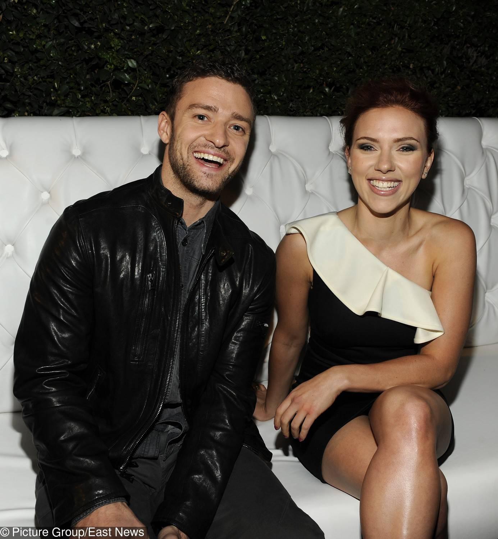 Justin Timberlake i Scarlett Johansson (styczeń 2011)