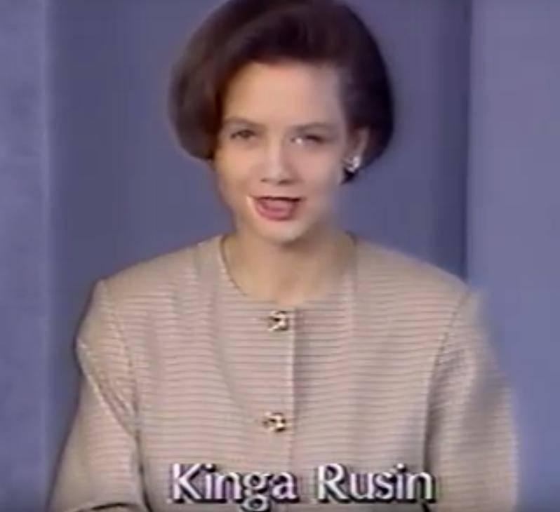 Kinga Rusin w 1993 roku