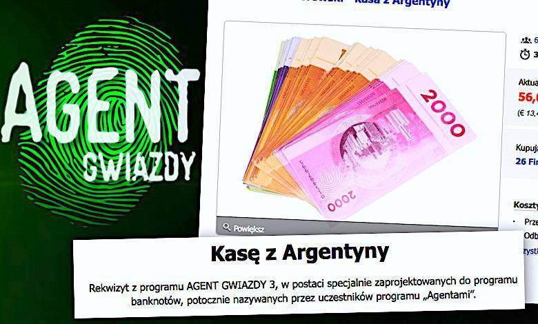 Agent Gwiazdy 3 uczestnicy, Allegro, Tomasz Ciachorowski