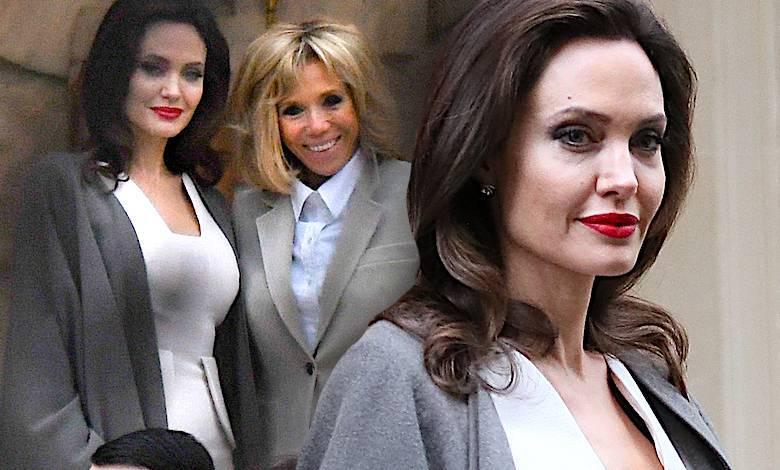 Angelina Jolie u Brigitte Macron