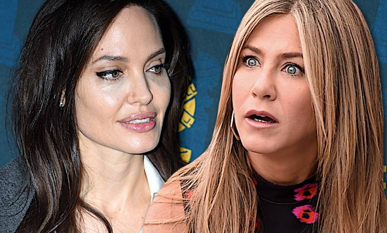 Angelina Jolie i Jennier Aniston
