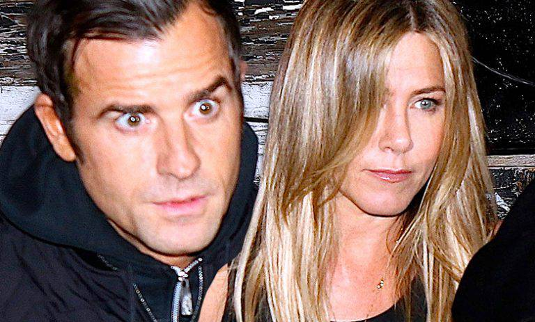 Jennifer Aniston i Justin Theroux kłócą się