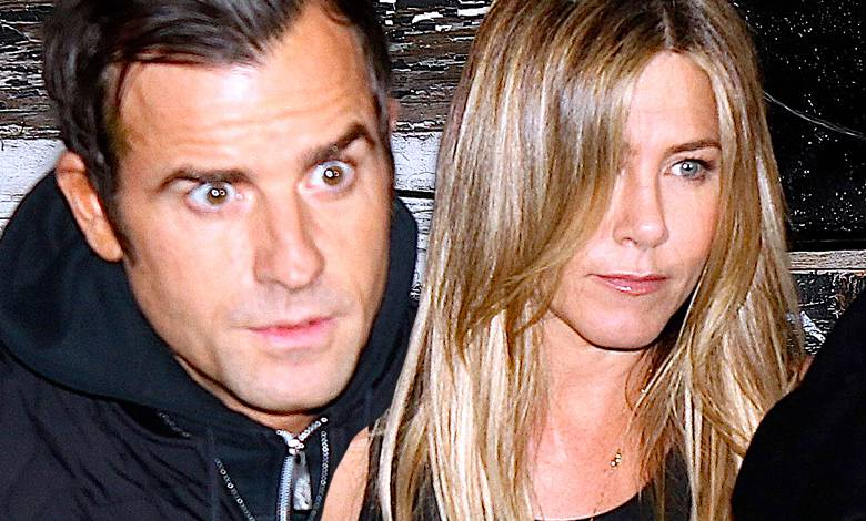 Jennifer Aniston i Justin Theroux kłócą się