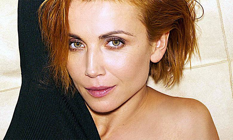 Katarzyna Zielińska bez makijażu