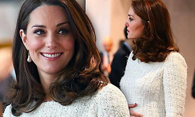 Księżna Kate ciążowy brzuch