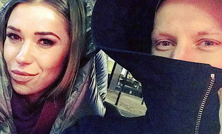 Kuba Wesołowski z żoną Agnieszką