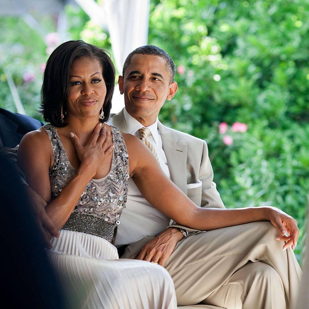 Barack Obama świętuje urodziny żony