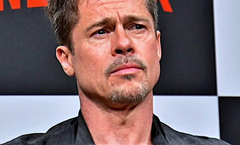 Brad Pitt smutny