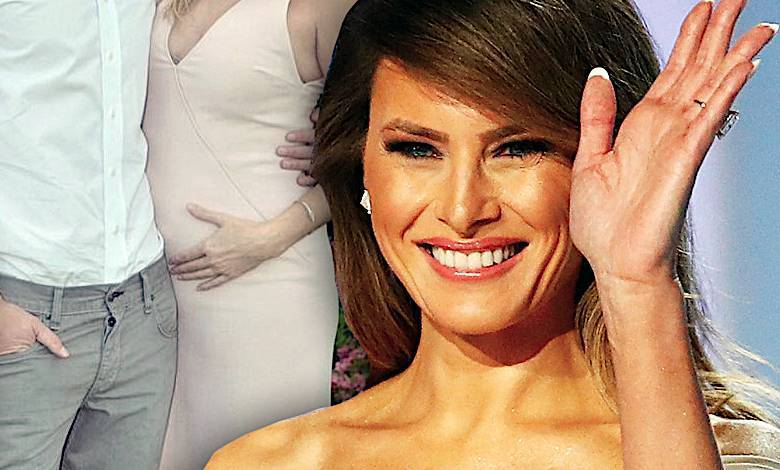Ivanka Trump w ciąży, Melania Trump babcią