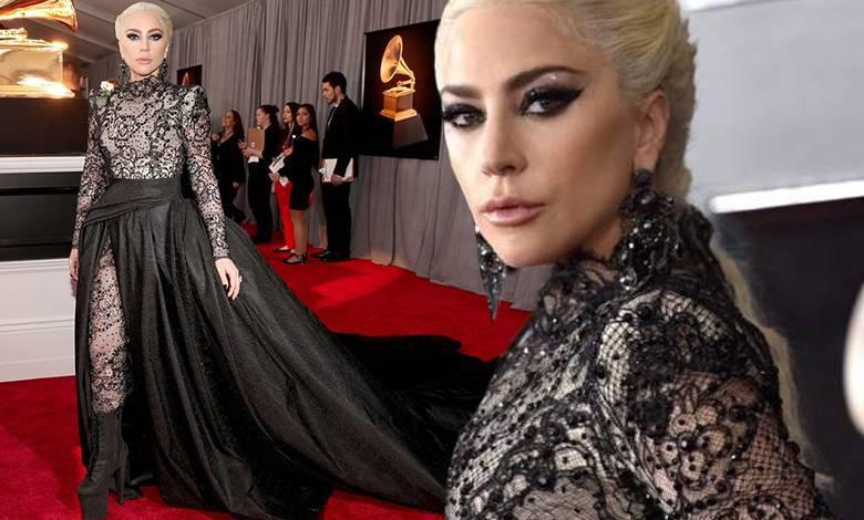 Lady Gaga - stylizacje na Grammy 2018