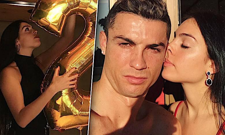 Georgina Rodriguez i Cristiano Ronaldo urodziny