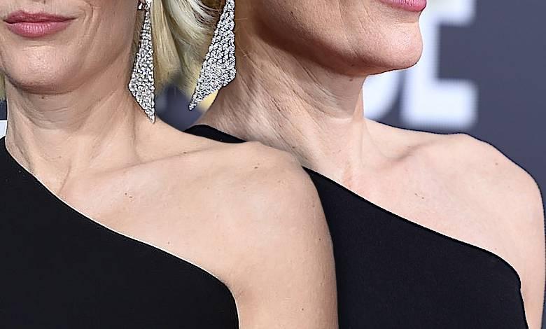 Gillian Anderson schudła