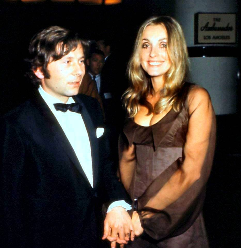 Sharon Tate i Roman Polański na Złotych Globach