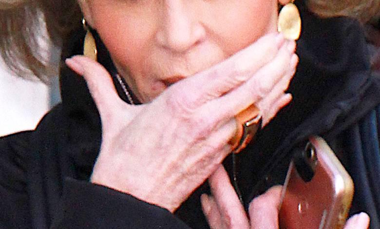 Jane Fonda ma raka skóry