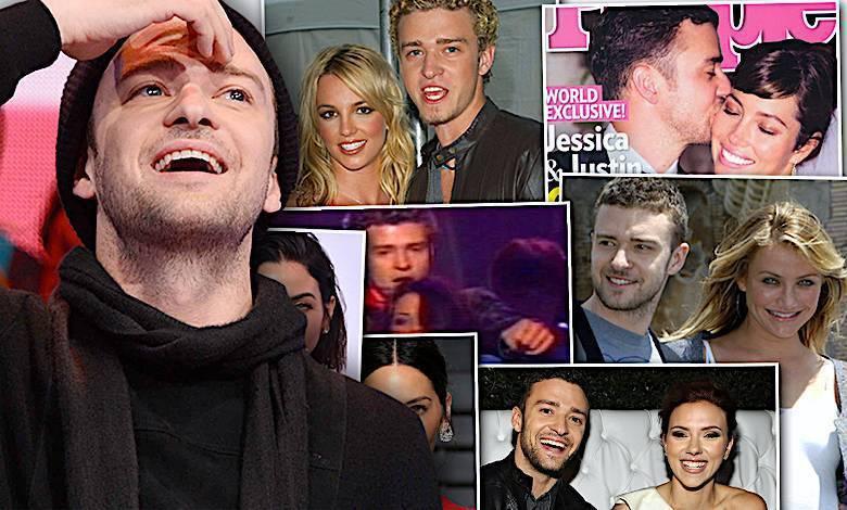 Justin Timberlake kobiety, związki, partnerki, życie prywatne