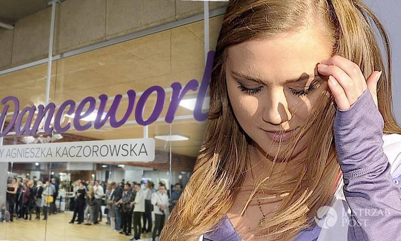 Agnieszka Kacorowska musi wyremontować sufit w swojej Szkole Tańca