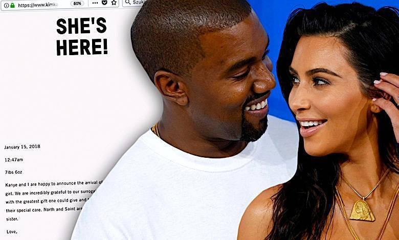 Surogatka Kim Kardashian urodziła. Oświadczenie