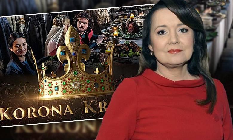 """W """"Wiadomościach"""" TVP1 bronią nowego serialu """"Korona Królów"""""""